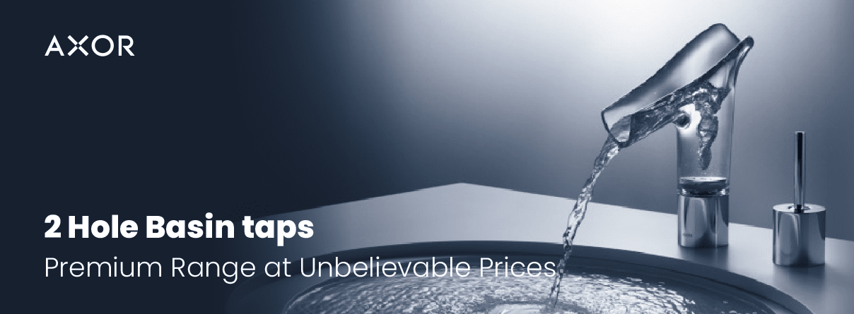 2-Hole Basin Taps from AXOR at xTWO