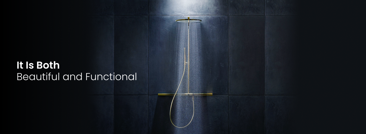 exposed shower systems from AXOR at xTWO