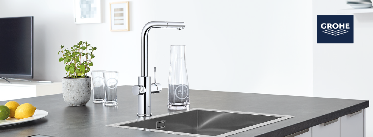 GROHE Electronic Kitchen Taps at xTWO
