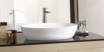 Villeroy & Boch Artis Oval Countertop Basin at xTWOstore